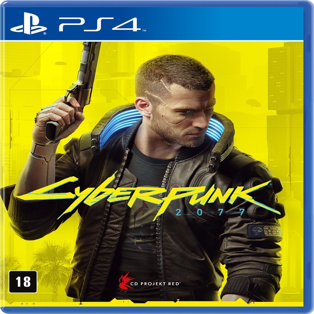 Jogo PS4 - Cyberpunk 2077 - BR - Sony