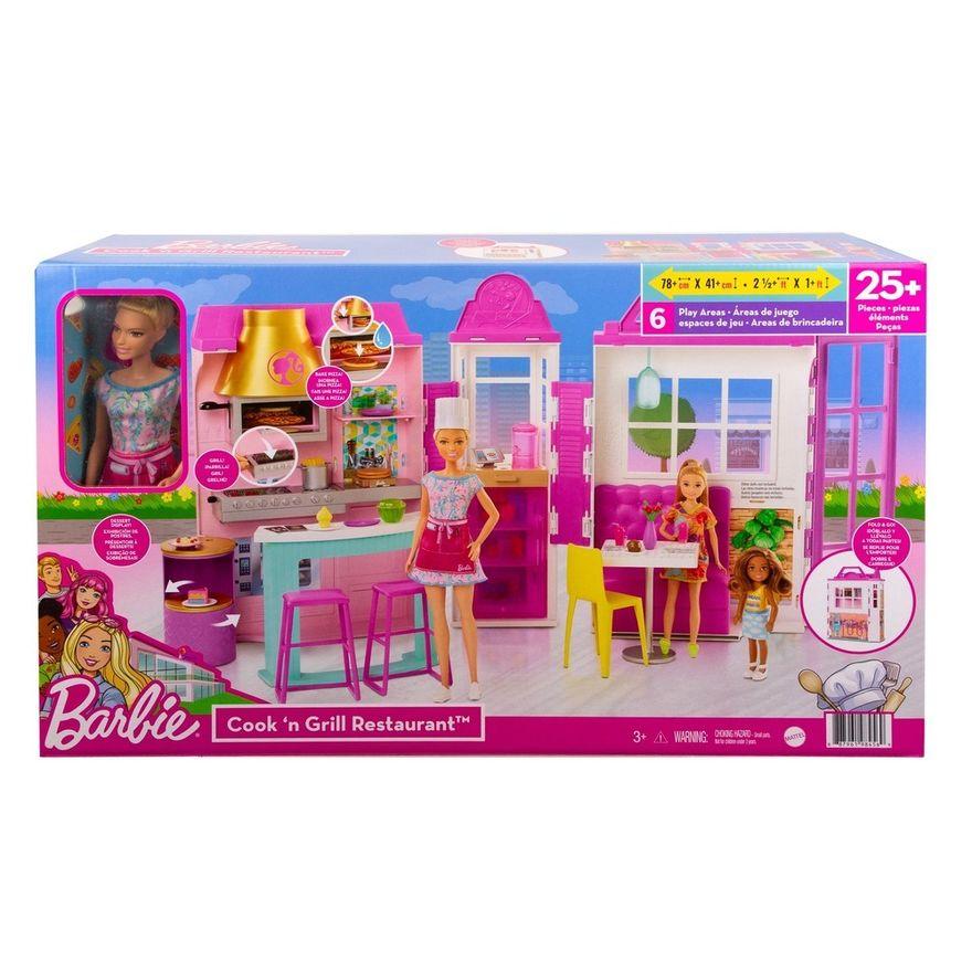 Boneca-Barbie-e-Restaurante---Estate---Rosa---Mattel-3