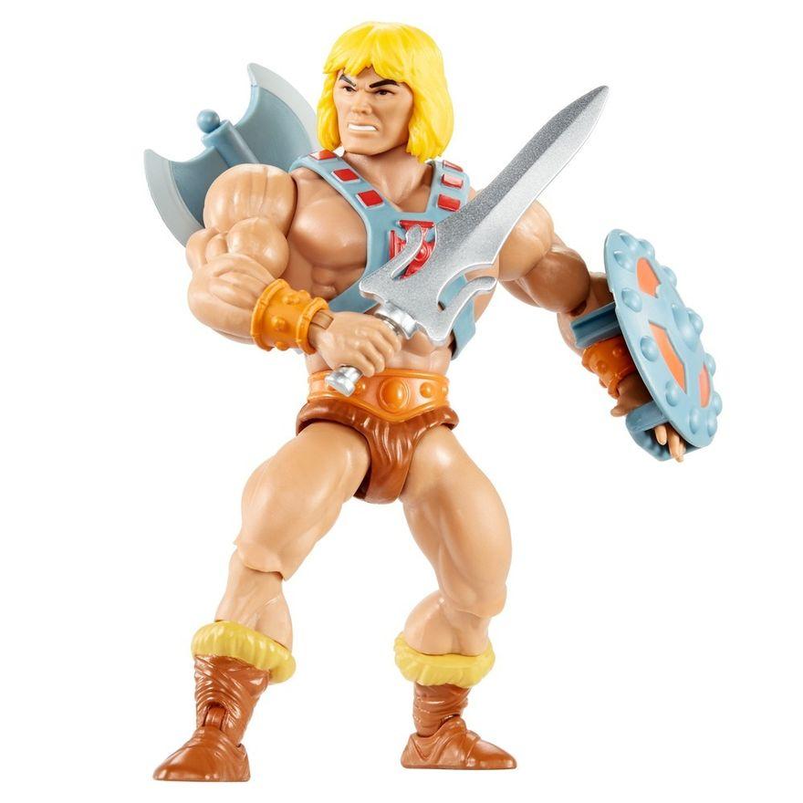 Figura-De-Acao---15Cm---Colecionavel---Masters-Of-The-Universe---He---Man---Mattel-0