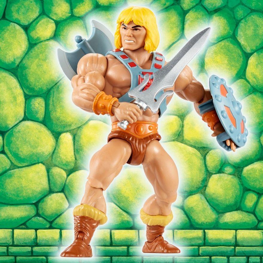Figura-De-Acao---15Cm---Colecionavel---Masters-Of-The-Universe---He---Man---Mattel-4