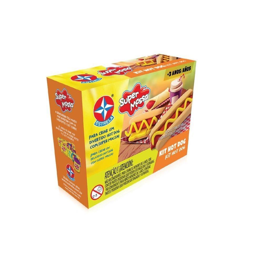 Super Massa Kit Hot Dog - Estrela