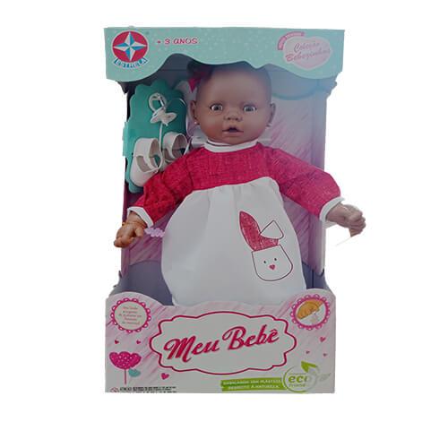 Boneca Meu Bebê - Negra - 60 cm - Estrela