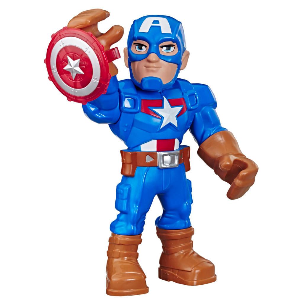 Boneco Playskool - Marvel - Capitão América - Hasbro