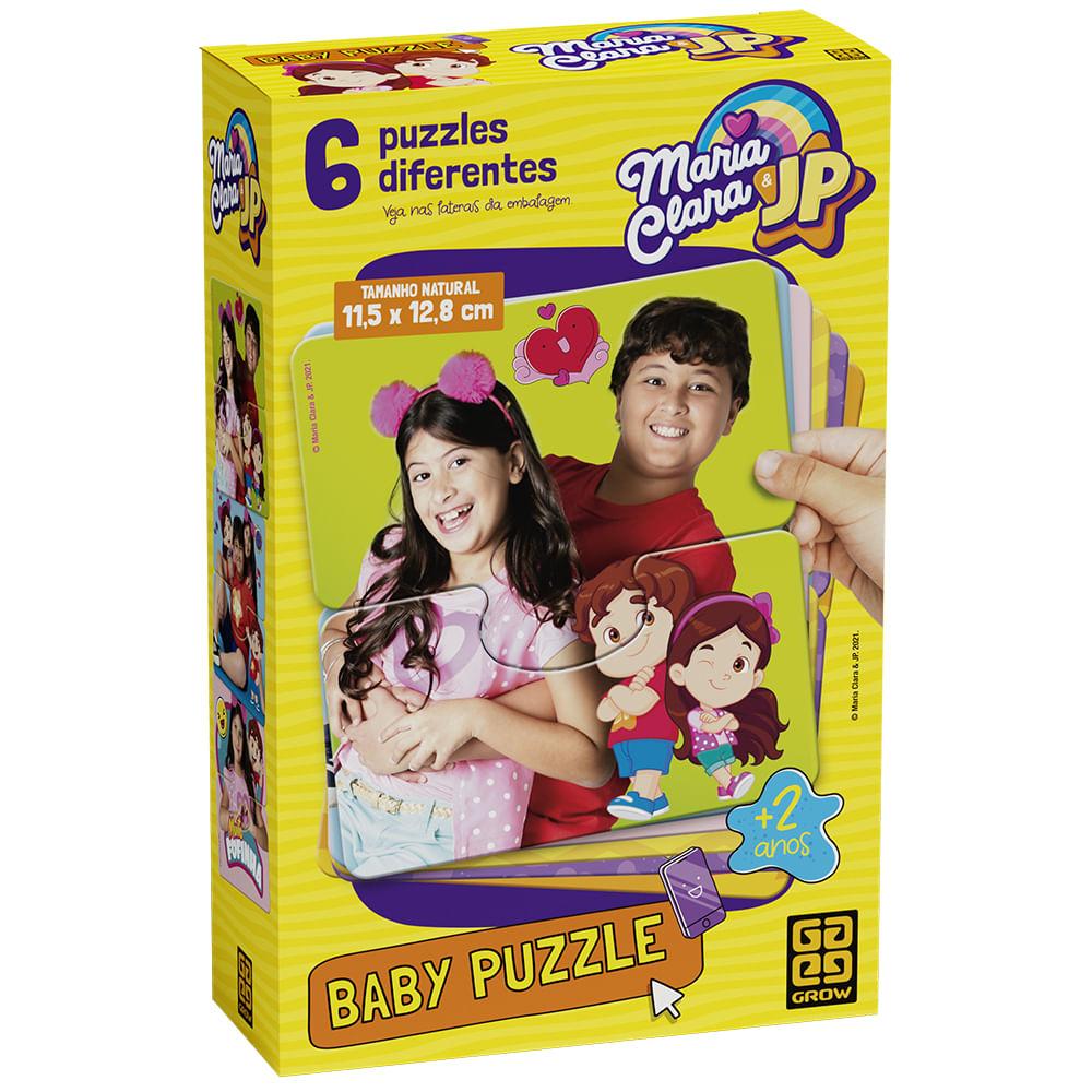Quebra-Cabeça - Puzzle Baby - Maria Clara e JP - Grow