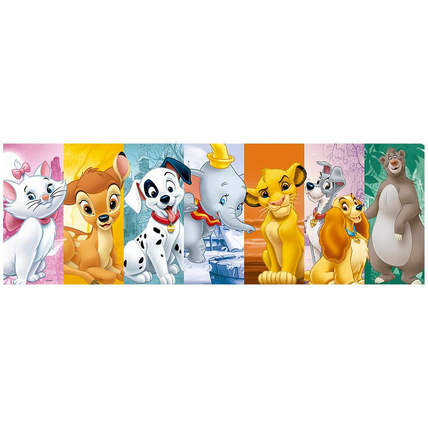 Quebra-Cabeca---Puzzle-Panorama---Animais-Disney---350-Pecas---Grow-2