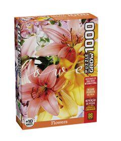 Quebra-Cabeca---Puzzle---Flowers---1000-Pecas---Grow-0