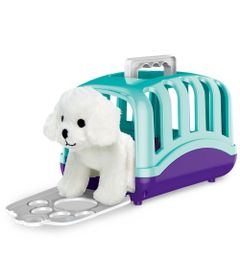 Mini-Figura-com-Acessorios---Maleta-de-Transporte-Pet-Care---Cachorrinho---Branco---Fun-0