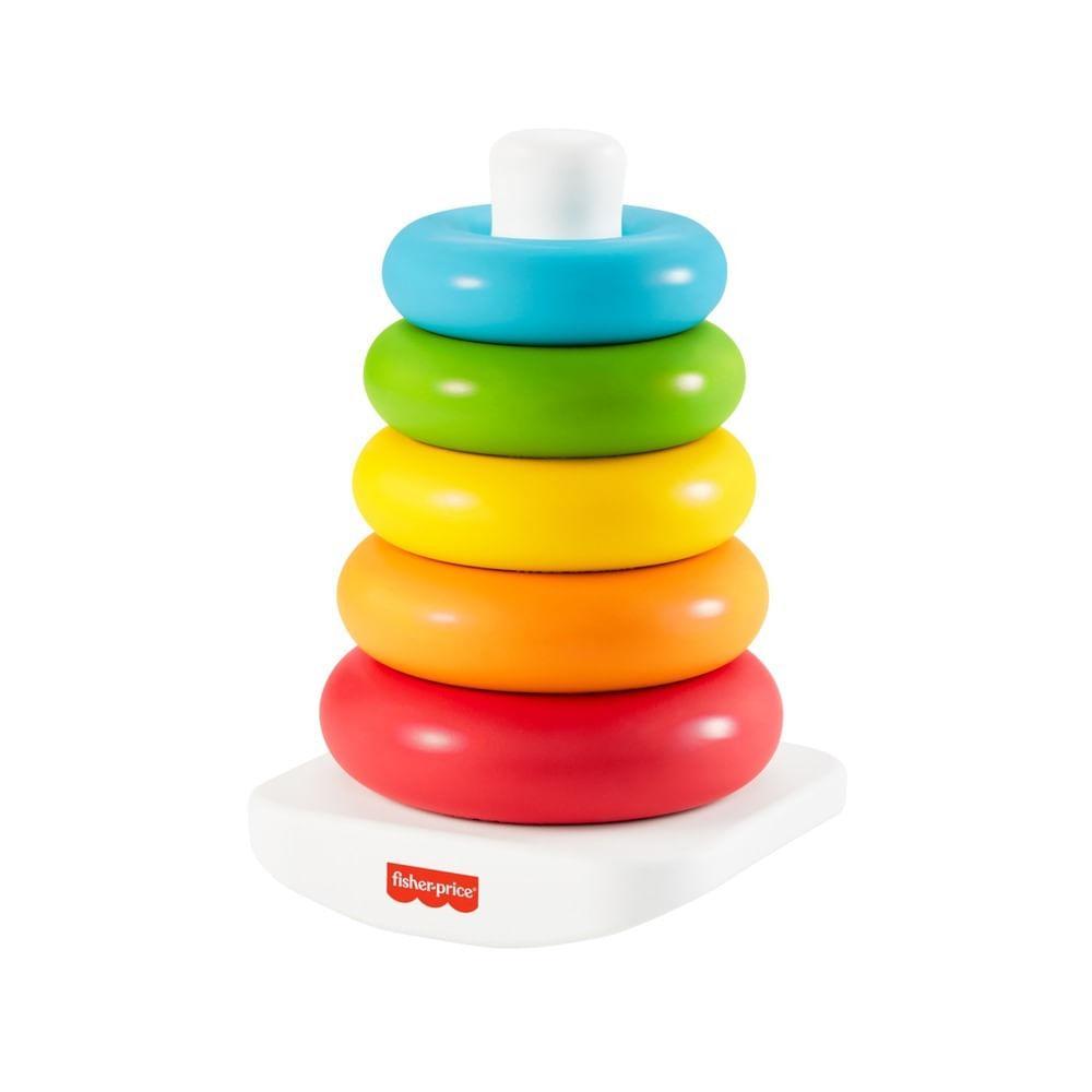 Brinquedo de Atividade - Pirâmide de Argolas Eco - Colorido - Fisher-Price