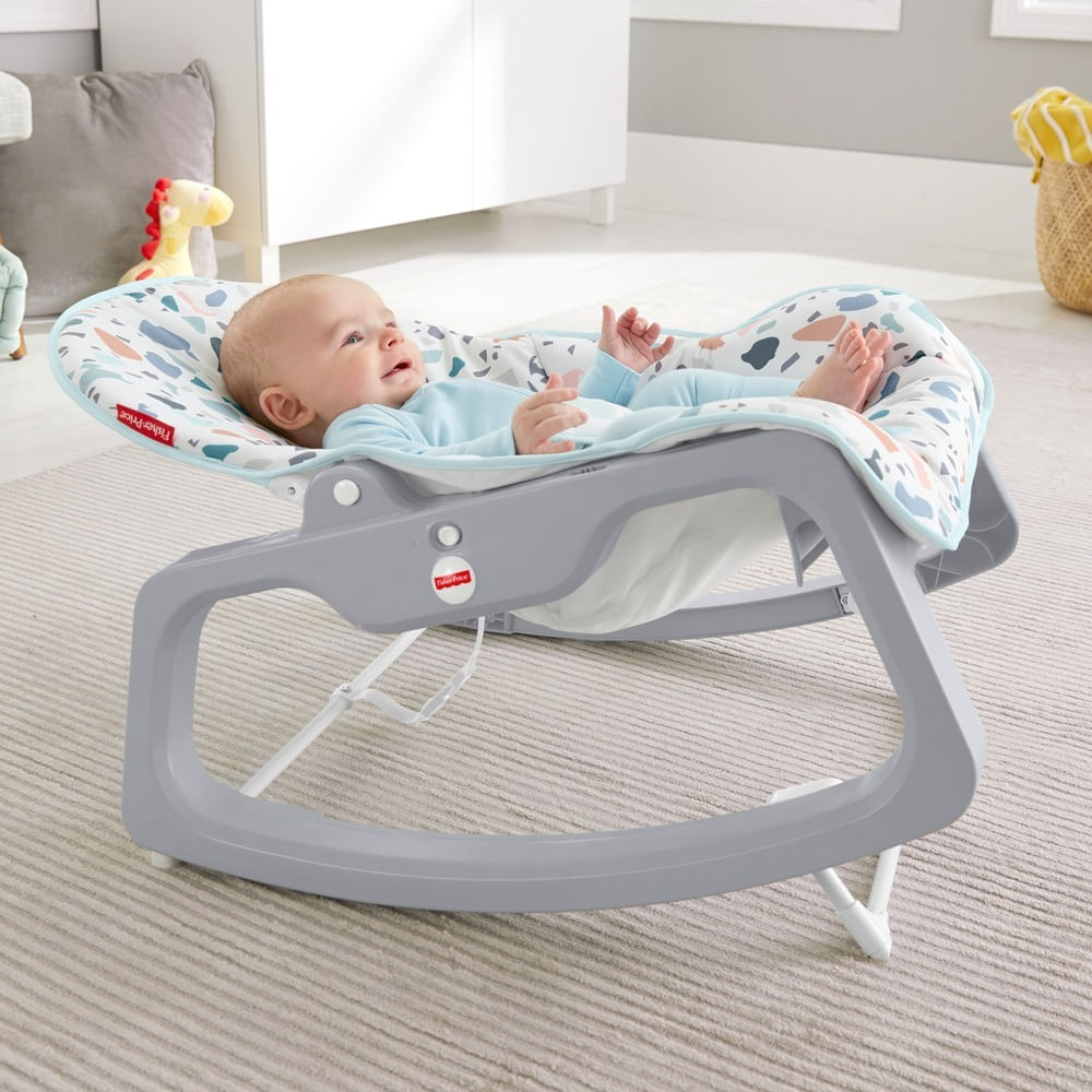 Cadeirinha de Balanço Reclinável - Fisher-Price Baby - Mattel