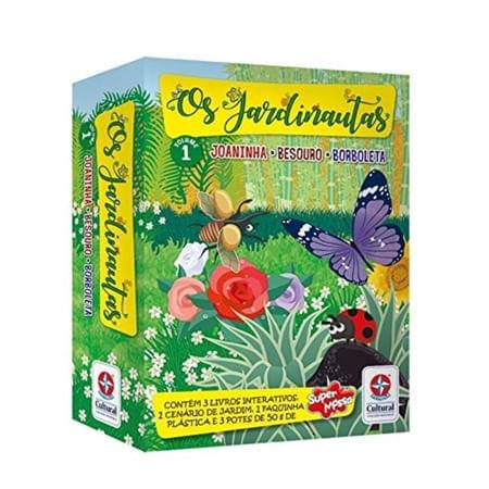 Livro Os Jardinautas Volume 1 - Estrela Cultural