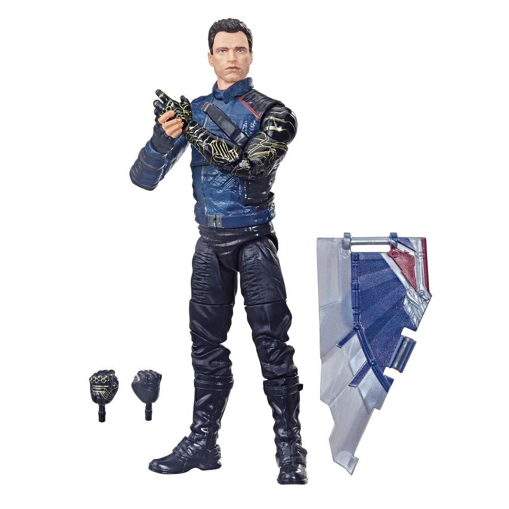 PRÉ-VENDA: Figura Articulada - 15 cm - Avengers Legends - Disney - Marvel - Soldado Invernal - Hasbro