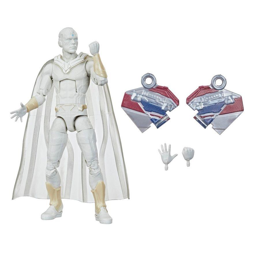 Figura-Articulada---15-Cm---Avengers-Legends---Disney---Marvel---Visao-Branco---Hasbro-0