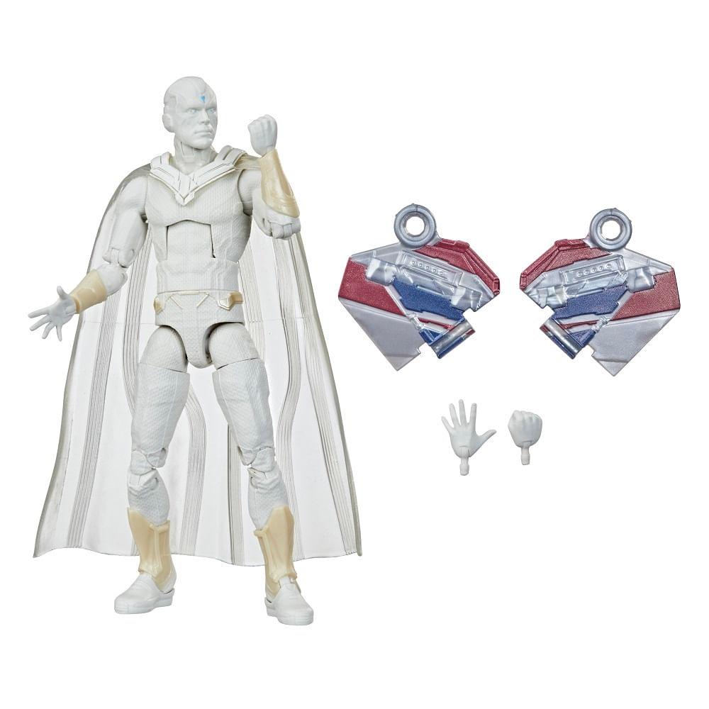 PRÉ-VENDA: Figura Articulada - 15 cm - Avengers Legends - Disney - Marvel - Visão Branco - Hasbro