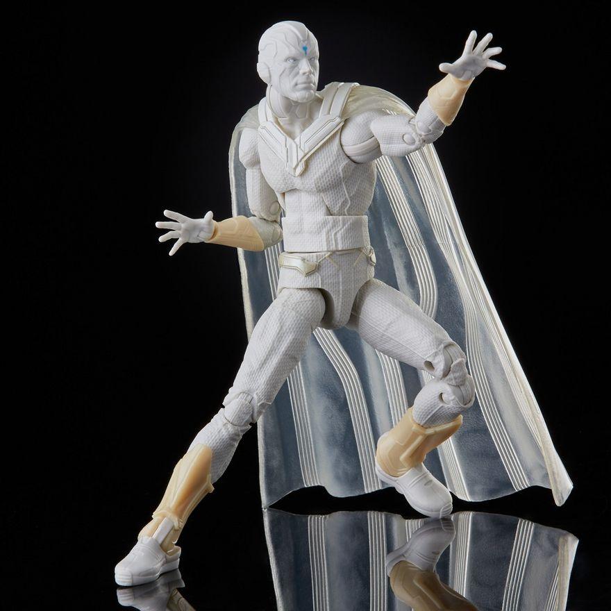 Figura-Articulada---15-Cm---Avengers-Legends---Disney---Marvel---Visao-Branco---Hasbro-3