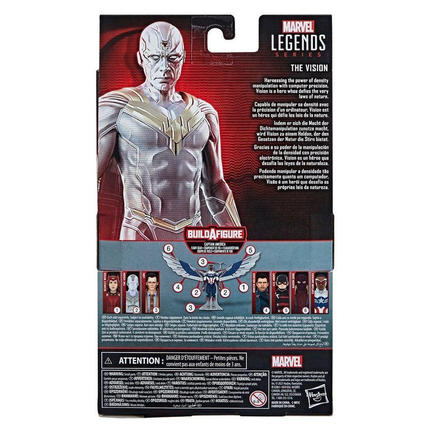 Figura-Articulada---15-Cm---Avengers-Legends---Disney---Marvel---Visao-Branco---Hasbro-8