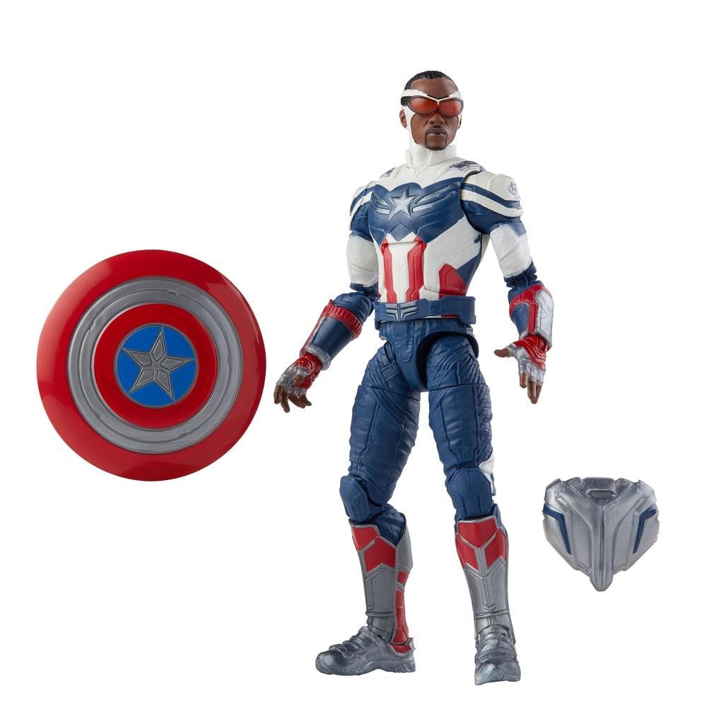 PRÉ-VENDA: Figura Articulada - 15 cm - Avengers Legends - Disney - Marvel - Capitão América Falcão - Hasbro