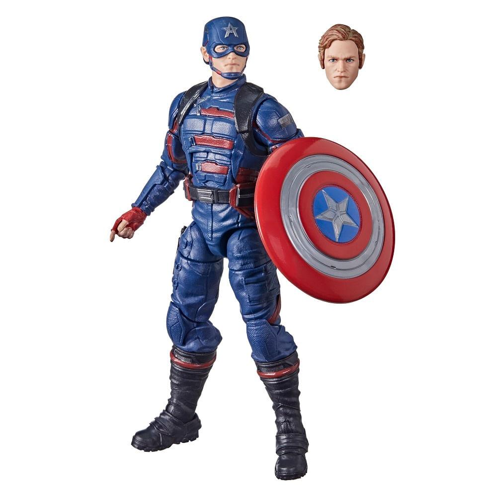 PRÉ-VENDA: Figura Articulada - 15 cm - Avengers Legends - Marvel - Capitão América John F. Walker - Hasbro