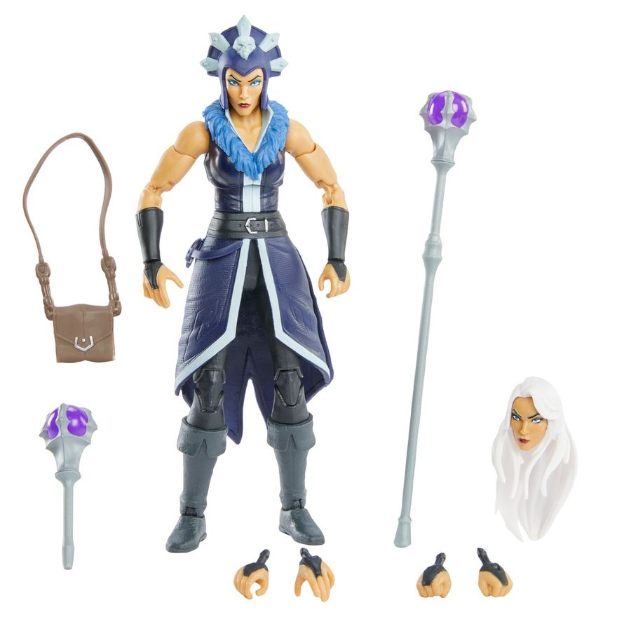 PRE-VENDA--Figura-De-Acao---18-cm---Colecionavel---Masters-Of-The-Universe---Evil-Lyn---Mattel-2