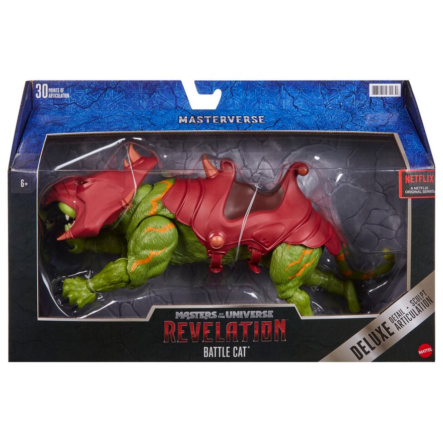PRE-VENDA--Figura-Articulada----Masters-Of-The-Universe---Revelation---Gato-Guerreiro---Mattel-1
