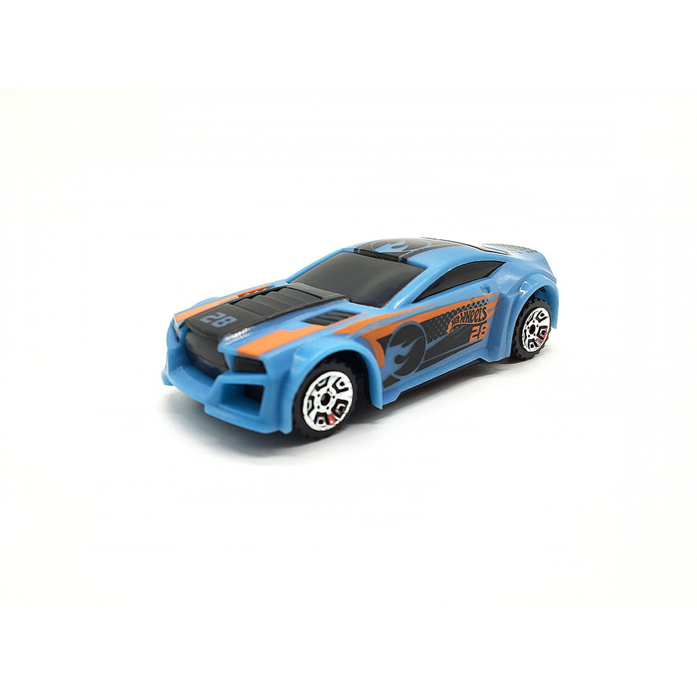 Carrinho Hot Wheels Chave Lançadora Azul - Fun