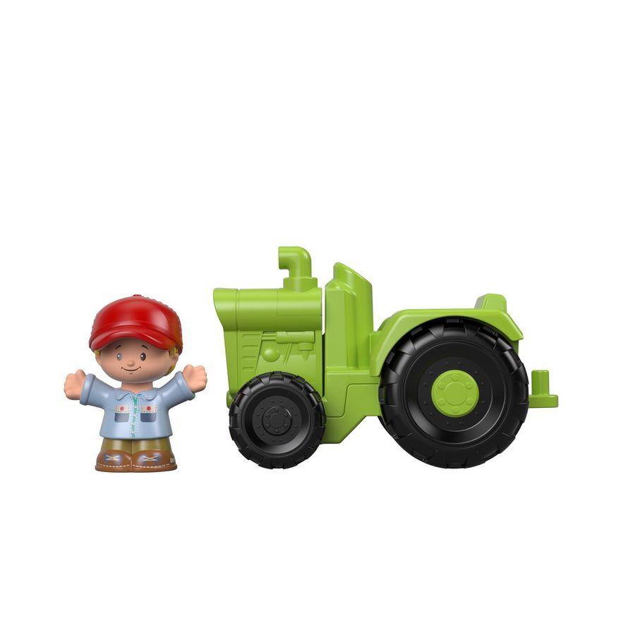 Mini-Figura-e-Veiculo---Little-People---Trator---Fisher-Price---Mattel-3