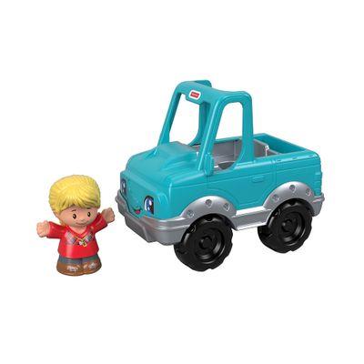 Mini-Figura-e-Veiculo---Little-People---Pick-Up---Fisher-Price---Mattel-0