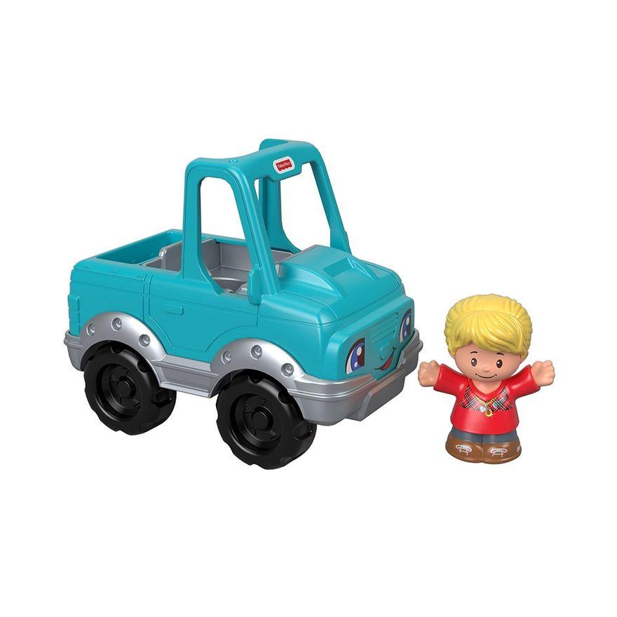 Mini-Figura-e-Veiculo---Little-People---Pick-Up---Fisher-Price---Mattel-1