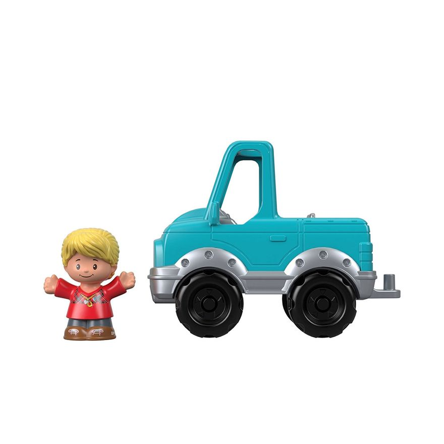 Mini-Figura-e-Veiculo---Little-People---Pick-Up---Fisher-Price---Mattel-3