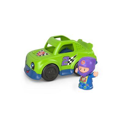 Mini-Figura-e-Veiculo---Little-People---Carro-de-Corrida---Fisher-Price---Mattel-0