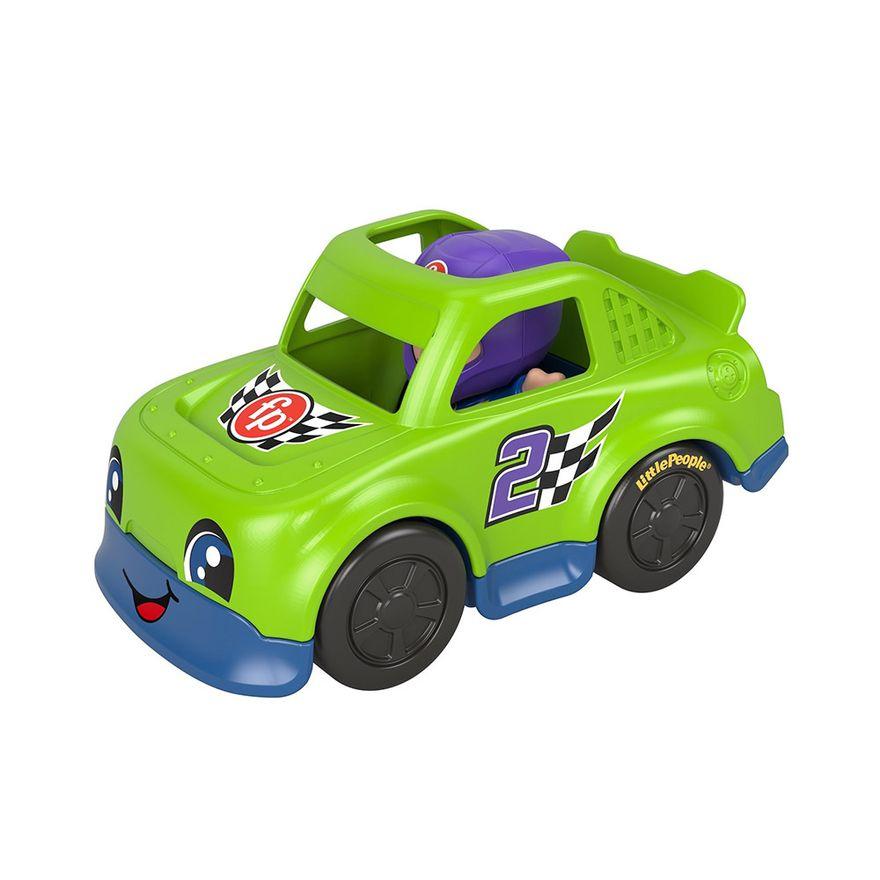 Mini-Figura-e-Veiculo---Little-People---Carro-de-Corrida---Fisher-Price---Mattel-3