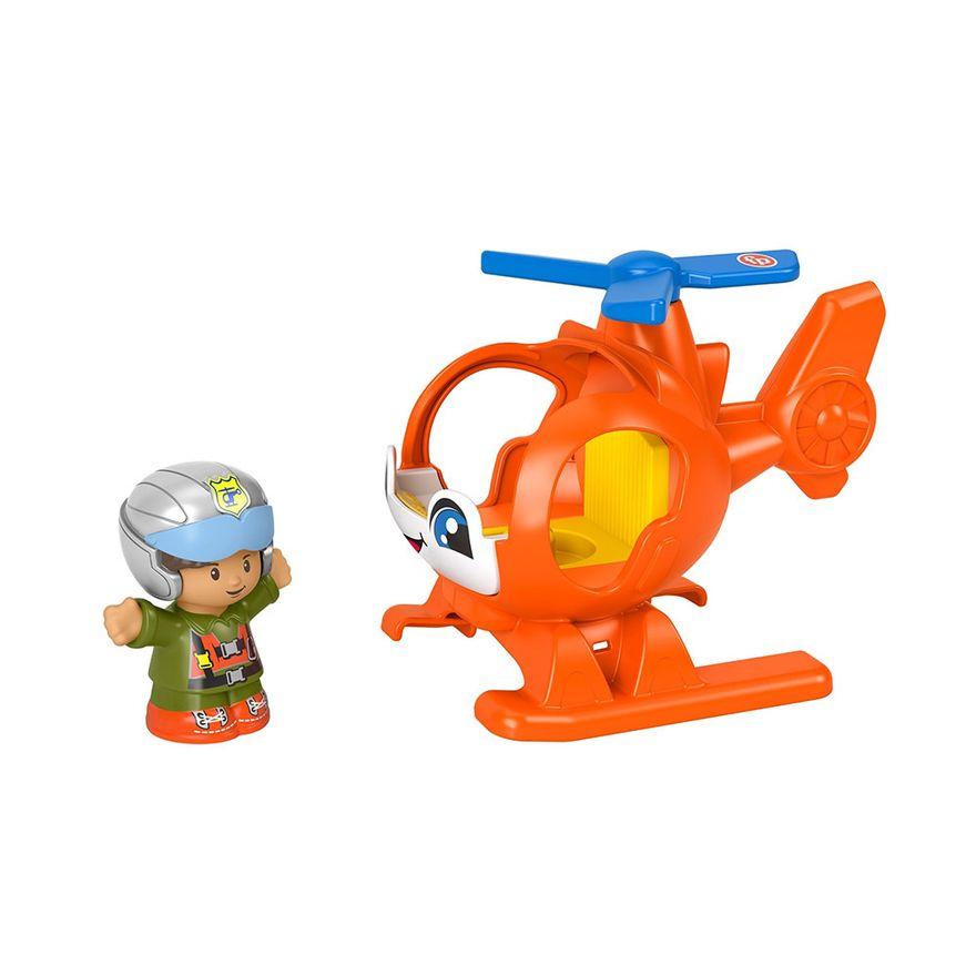 Mini-Figura-e-Veiculo---Little-People---Helicoptero---Fisher-Price---Mattel-1