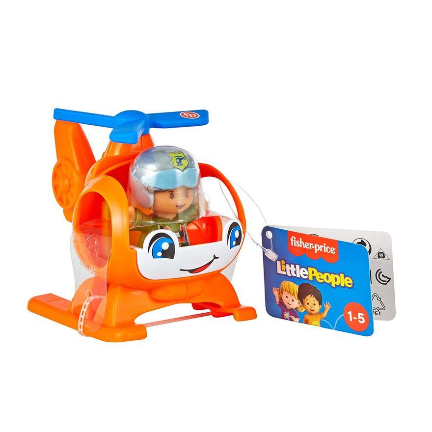 Mini-Figura-e-Veiculo---Little-People---Helicoptero---Fisher-Price---Mattel-2