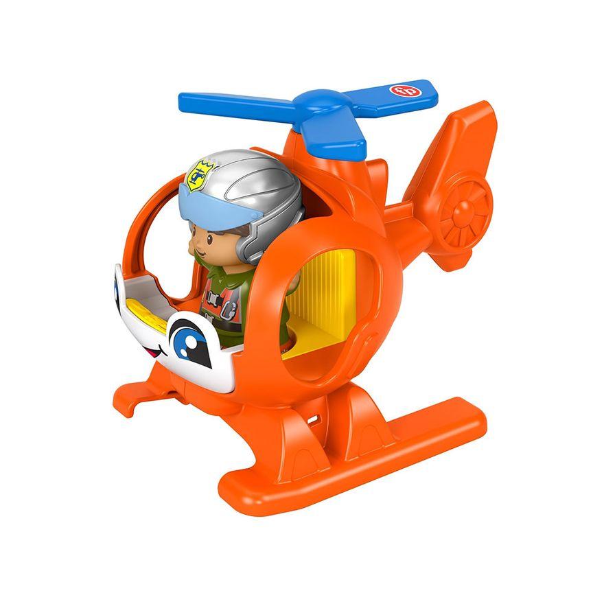 Mini-Figura-e-Veiculo---Little-People---Helicoptero---Fisher-Price---Mattel-3