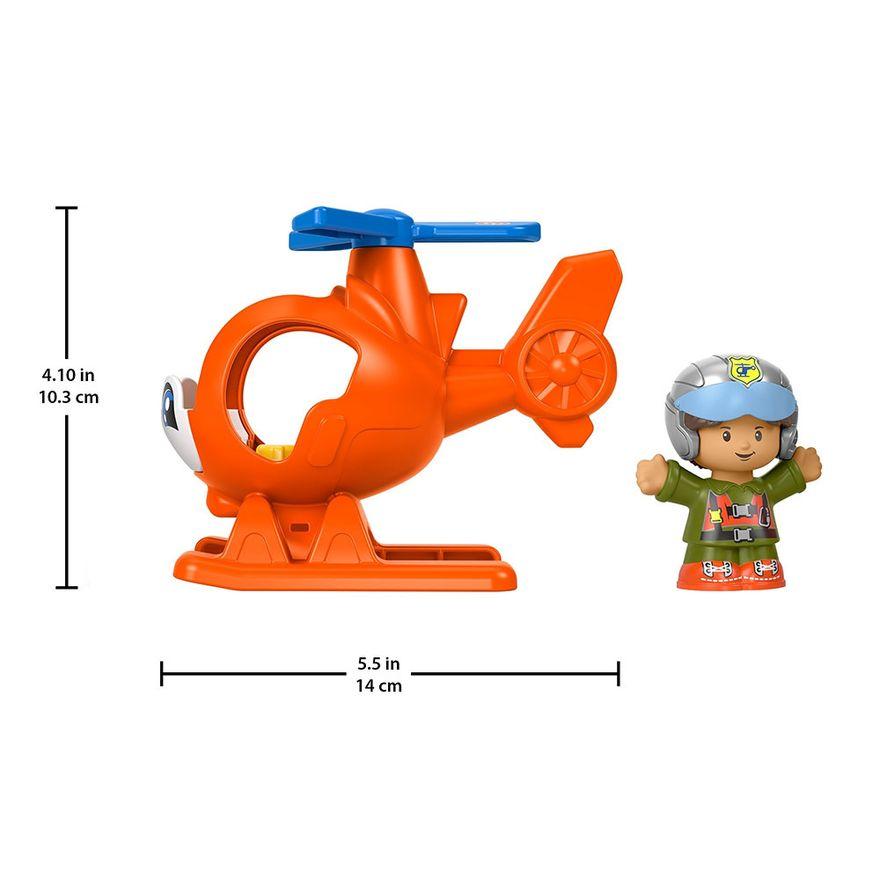 Mini-Figura-e-Veiculo---Little-People---Helicoptero---Fisher-Price---Mattel-4