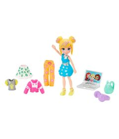 Boneca-e-Acessorios---Polly-Pocket---Conjunto-Fashion-Pequeno-da-Polly---Espaco---Mattel_Frente