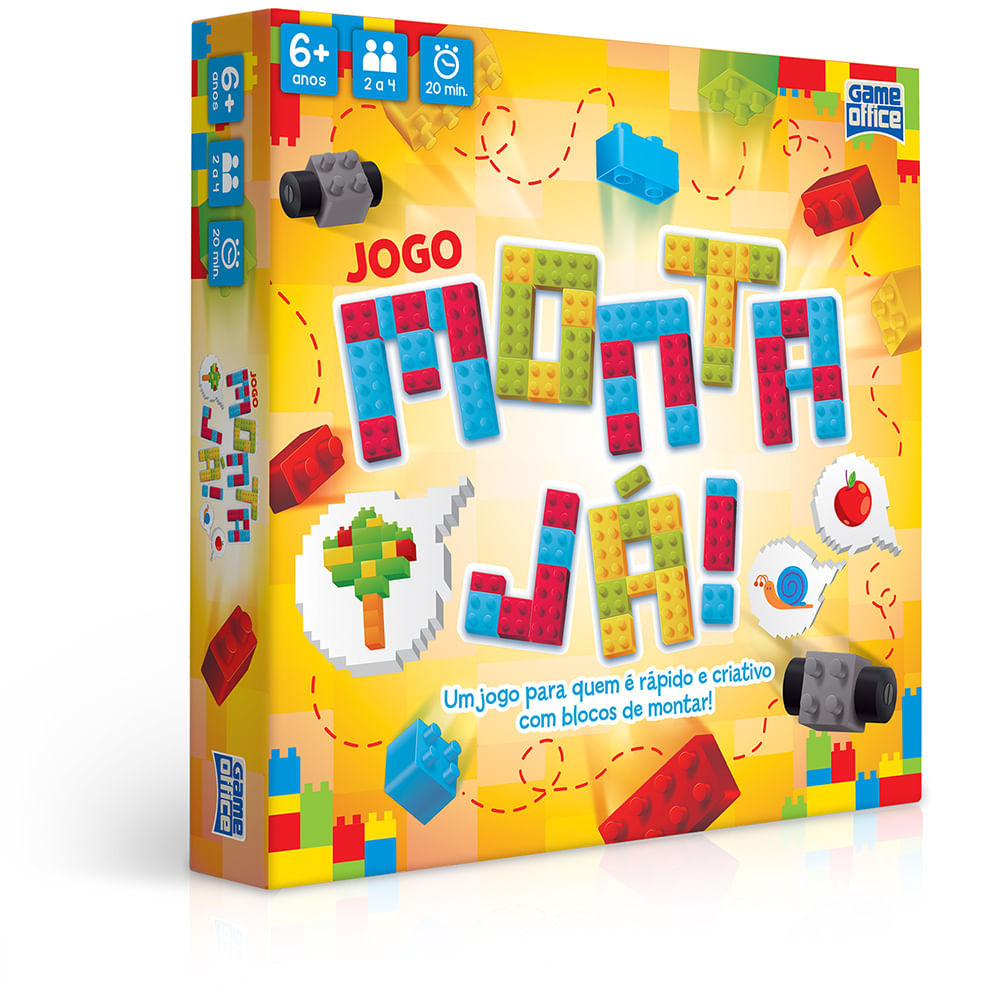 Jogo - Game Office - Monta Já - Toyster