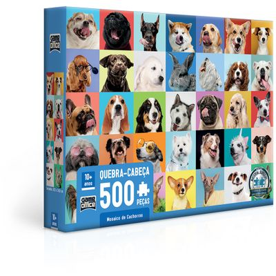 Quebra---Cabeca---500-Pecas---Game-Office---Cachorros-Mosaico---Toyster-0