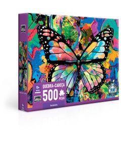 Quebra-Cabeca---500-pecas---Game-Office---Grafite-Borboletas---Toyster-0