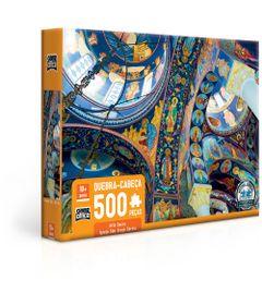Quebra-Cabeca---500-Pecas---Arte-Sacra---Igreja-de-Sao-Jorge-Servia---Oplenac--Toyster-0