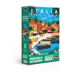 Quebra-Cabeca---500-Pecas-Nano---Postais-do-Mundo---Italia--Toscana---Toyster-0