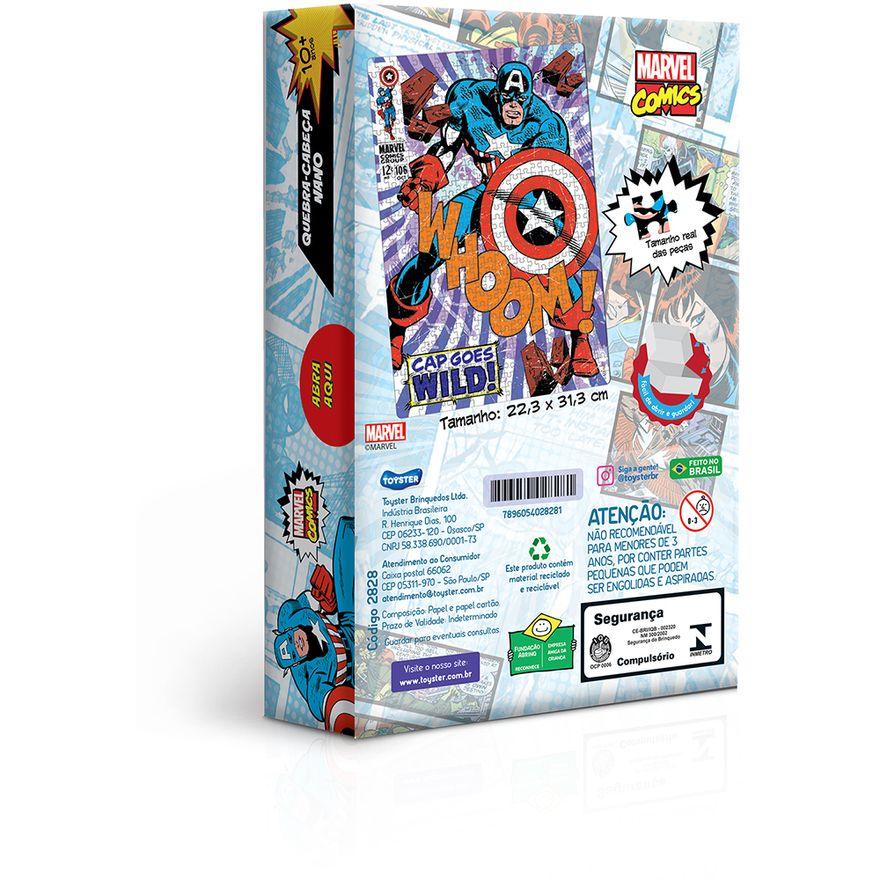Quebra-Cabeca---500-Pecas-Nano---Marvel---Capitao-America---Toyster-1