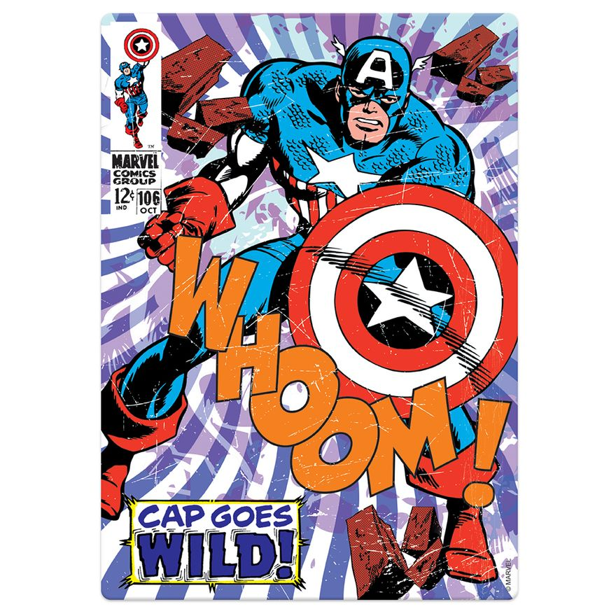 Quebra-Cabeca---500-Pecas-Nano---Marvel---Capitao-America---Toyster-2
