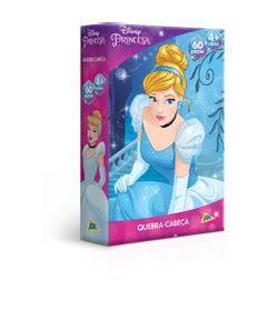 Quebra-Cabeca---60-Pecas---Jak---Princesas---Disney---Cinderela---Toyster-0