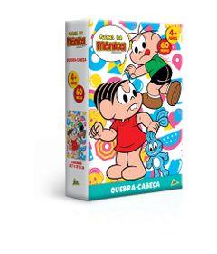 Quebra-Cabeca---60-Pecas---Turma-da-Monica---Monica-e-Cebolinha---Toyster-0