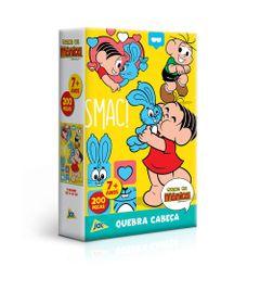 Quebra-Cabeca---200-Pecas---Turma-da-Monica---Monica-e-Sansao---Toyster-0