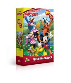Quebra-Cabeca---200-Pecas---Mickey---Disney---Toyster--0