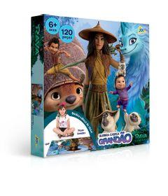 Quebra-Cabeca-Grandao---120-Pecas---Disney---Raya-e-o-Ultimo-Dragao---Toyster--0