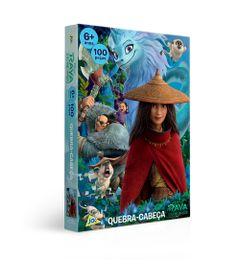 Quebra-Cabeca---100-Pecas---Disney---Raya-e-o-Ultimo-Dragao---Toyster-0