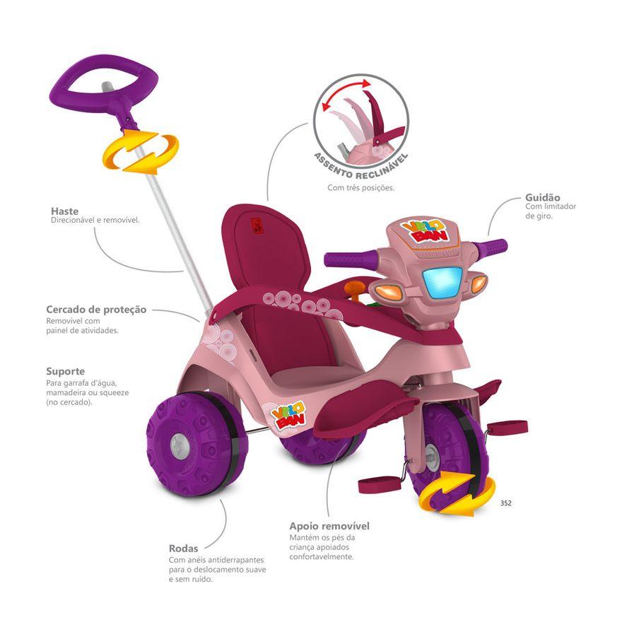Passeio-e-Pedal---Velocipede---Reclinavel---Rosa---Bandeirante-2