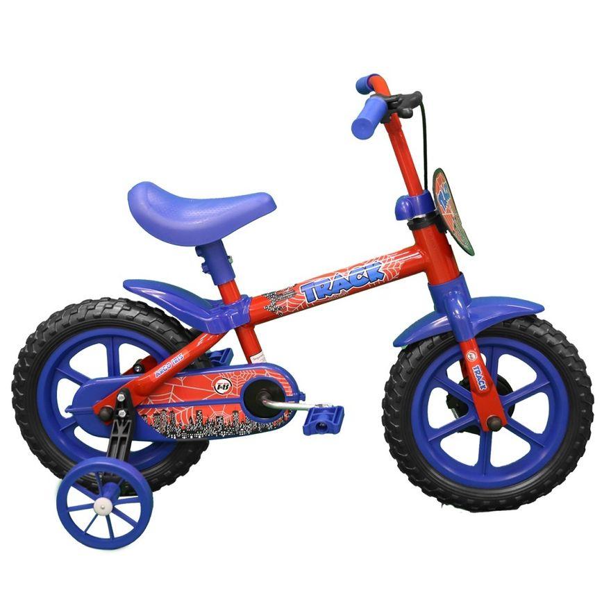 Bicicleta-Aro-12---Arco-Iris-Vermelho-e-Azul---TK3-Track-0